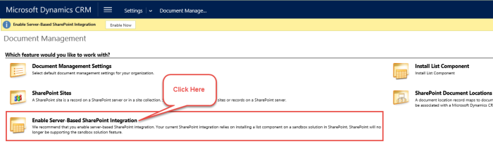 59.11.Enable Server-Based SharePoint Integration