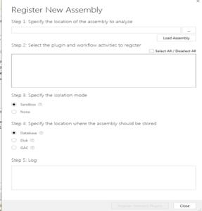 Register Assembly