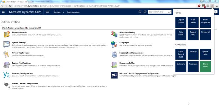 Screenshot Main