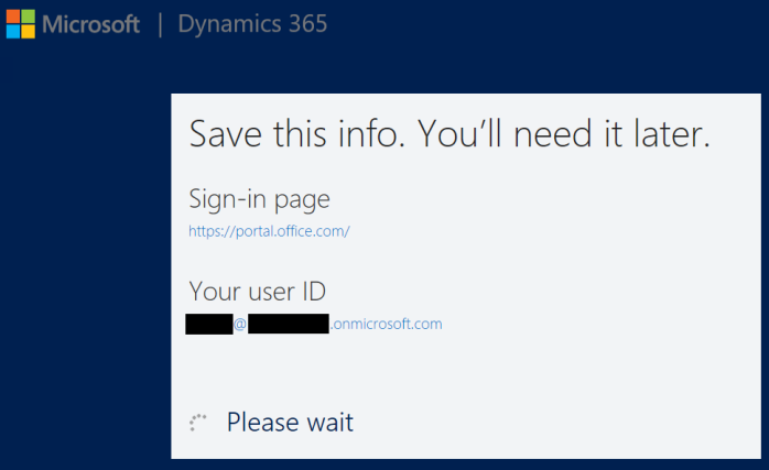 How to Setup Dynamics 365 30 days Online Trial version