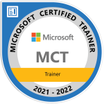 Microsoft Certified Trainer 2021-22