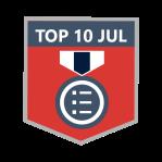 Microsoft Dynamics Community - Top 10 Blogger JUL 2021